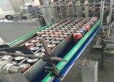 Macchina imballatrice automatica del barattolo di latta dell'alimento