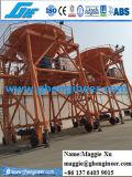 Schlacke-Weizen-Kohle-Gummigummireifen-Mobile-Zufuhrbehälter des Klinker-30cbm