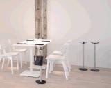 Mesa de centro viva de los muebles del dormitorio del comedor de la oficina de Uispair del hotel redondo el 100% de acero moderno del hogar