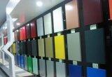 Uso compuesto de aluminio del panel de la capa de PVDF para la decoración de la pared de Externel