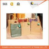 Kundenspezifischer stilvoller Papierbeutel für das Einkaufen und Tuch