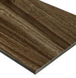 Uso compuesto de aluminio del panel de la nuez negra para la decoración de interior