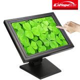 """Monitor pulgada/15 de la pantalla táctil del LCD recibo uso barato impresora LED resistente 15 """" para el sistema de la posición"""