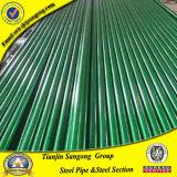 プラスチック上塗を施してある電流を通された外鋼管