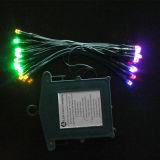 건전지 상자 힘 Suppy (L200.024.00)를 가진 크리스마스 불빛 선물 끈 기술