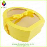 Calidad 100% hoja de oro caja del caramelo rígido con impresión de la insignia