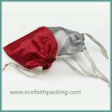 мешка сатинировки 15*30cm мешок подарка сатинировки белого многофункциональный