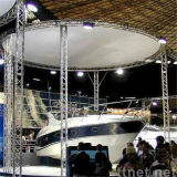 L'alluminio dell'altoparlante della casella quadrata di esposizione dello zipolo LED del DJ monta il fascio esterno della sfilata di moda della visualizzazione