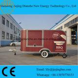 De Aanhangwagens van het Ontwerp/van de Taco van de Aanhangwagen van het Voedsel van de Fabriek van China op Verkoop