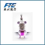 frasco de vidro do perfume do carro 30ml