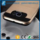 Dekking van de Telefoon van het Satijn van de borstel de Mobiele voor het Geval van de Melkweg van Samsung S6