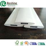 Покрашенные профили алюминия штарки окна PVC