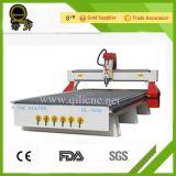 Алюминий большого формата профилирует маршрутизатор CNC таблицы деревянный