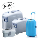 4PCS PP Luggage Set Trolley Case PP Suitcases (BL405--木)