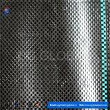 Clôture en soie tissée en plastique noir 70GSM PP