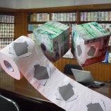 Поставщик оптовой продажи крена туалета Китая напечатанный таможней