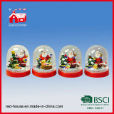 [سنتا] كلاوس عيد ميلاد المسيح مشردة ماء كرة أرضيّة [إكسمس] حزب منزل زخرفة