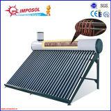 Riscaldatore di acqua pressurizzato solare della bobina di rame compatta