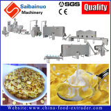 Linha de produção máquina dos flocos de milho dos cereais de pequeno almoço da extrusão