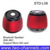 Bluetooth Wireless Mini Stereo Speaker con el Mic para Home Theatre (STD-L08)