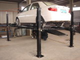 車輪およびジャッキが付いている4つのポストの駐車上昇か車の起重機