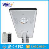 LED de luz de silicio monocristalino 15W lámpara de calle al aire libre solar