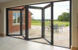 Sistema di alluminio di vetro del doppio del portello di piegatura