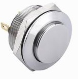 Interruptores de botón terminales del acero inoxidable del Pin