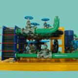 물 또는 증기 또는 기름 냉각 장치를 위한 Gasketed 격판덮개 열교환기