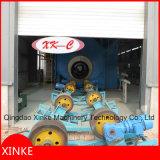 Il tubo d'acciaio fuori mura la macchina di granigliatura