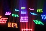 세척 효력을%s 가진 대중적인 25PCS 매트릭스 LEDs 이동하는 맨 위 광속 빛