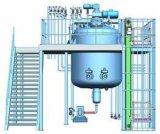 Het Mengen zich van de Tank van de Emulgering van de Scheerbeurt van het roestvrij staal Vacuüm Hoge Machine