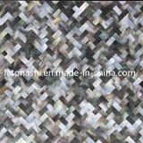 Azulejo de mosaico de mármol del shell para la albañilería