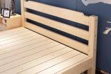 سرير صلبة خشبيّة [دووبل بد] حديثة ([م-إكس2227])