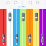 Samsung와 iPhone 6을%s 1개의 USB 케이블에 대하여 2