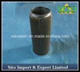 De Zeef van het Netwerk van de Draad van het roestvrij staal, de Filter van de Patroon van het Roestvrij staal