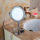 Le miroir d'éclairage rond composent des miroirs de salle de bains