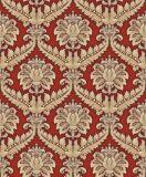 Fabricante rojo de Wallcoverings del papel pintado del papel de empapelar del estilo europeo