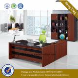 Escritorio de oficina moderno de encargado del vector ejecutivo de los muebles de la melamina (HX-GD039F)
