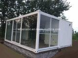 변경된 콘테이너 조립식으로 만들어지는 조립식 햇빛 룸 집을%s 가진 햇빛 시간