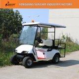 Chariot de golf des véhicules utilitaires 2+2-Seater avec la portée arrière de cavalier