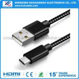 전화 부속품을%s 나일론 땋는 유형 C USB 케이블