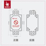 Tag do micro de /Harness da planta & da maquinaria de Tagout da segurança Bd-P31