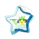 保有物の化粧品にとって理想的なオーガンザの上が付いている透過PVC袋さまざまなカラーで使用できる