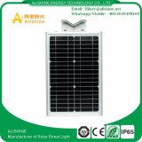 Installation facile 20W neuf DEL solaire Integrated toute dans un réverbère