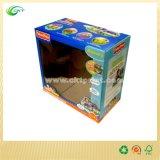 Kundenspezifische Bildschirmanzeige-gewölbter Geschenk-Kasten mit Einlage für Spielzeug (CKT-CB-622)
