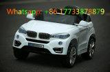 Elektrische Auto van de Auto van de Jonge geitjes van de Afstandsbediening van de Kleur van BMW de Witte