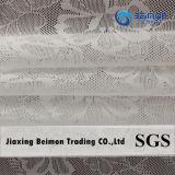 Grande maglia del jacquard di disegno 80%Polyamide 20%Elastic dei fiori nel disegno fantastico