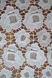 女性Dressingおよびホーム織物ののための刺繍が付いているポリエステルレースファブリック