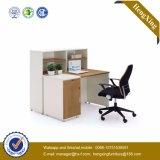 Hölzerner Spitzenblock gebogener Computer-Büro-Tisch (HX-GD047)